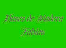 FABIAN BASES DE MADERA